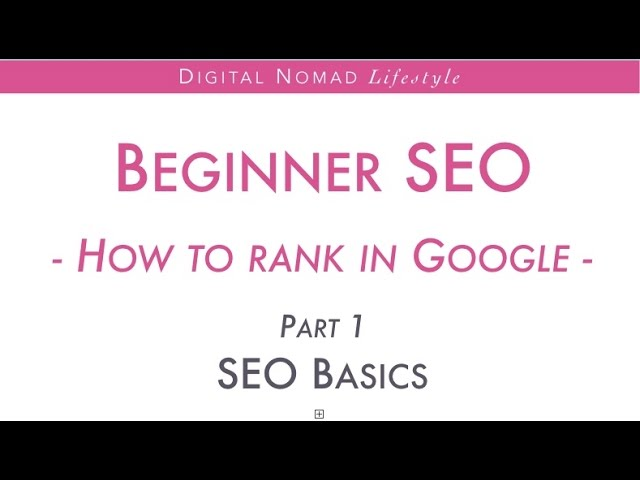 Image Result For Google Seo Tutorial For Beginners How To Seo A Website